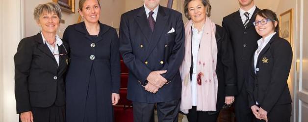 Duca Amedeo di Savoia e Principessa Silvia di Savoia ospiti a Duchessa Margherita